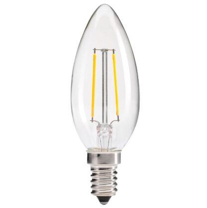 """LED светодиодная лампа """"Свеча"""" FILLAMENT Biom FL-304 G37 4W E14"""