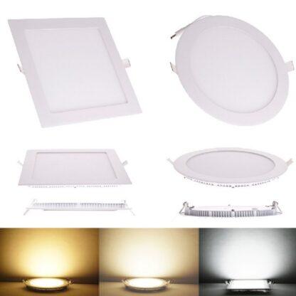 LED точечный светильник квадратный  встраиваемый 12Вт