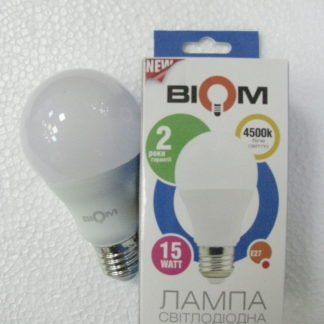 Светодиодная лампа Biom 15Вт E27 BT-515 A65