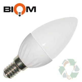 Лампа LED светодиодная Biom BB-408 C37 7W E14