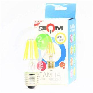 LED лампа светодиодная Biom FL-312 A60 8W E27
