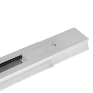 Профиль (шинопровод) однофазный для трековых светильников LED ZL4004 ECO 1 метр белый