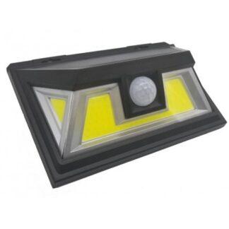 LED светильник на солнечной батарее c датчиком движения уличный 10Вт IP65