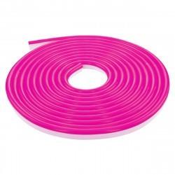 LED NEON FLEX светодиодный гибкий неон розовый 220В SMD3528 120LED на метр IP65 для улицы