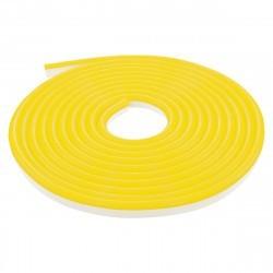 LED NEON FLEX светодиодный гибкий неон жёлтый 220В SMD3528 120LED на метр IP65 для улицы