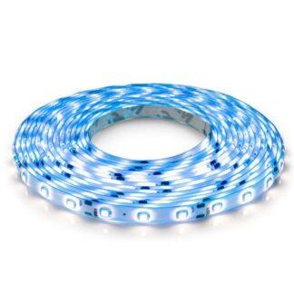 Светодиодная лента синяя 12В OEM ST-12-2835-60-B-65 60LED/m IP65