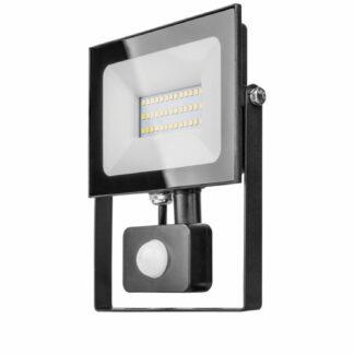 LED уличный прожектор с датчиком движения и освещения 20Вт ULTRA SLIM 1800Lm IP65