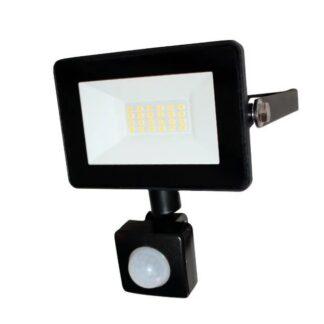 LED уличный прожектор с датчиком движения и освещения 10Вт ULTRA SLIM 900Lm IP65