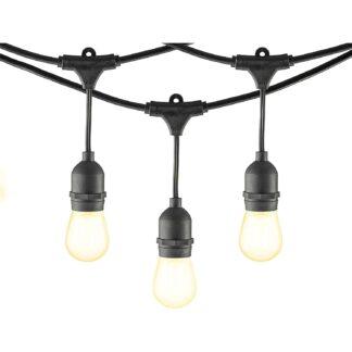Гирлянда лампочками уличная Е27 IP67 20шт 10,5м 1000W Белт Лайт