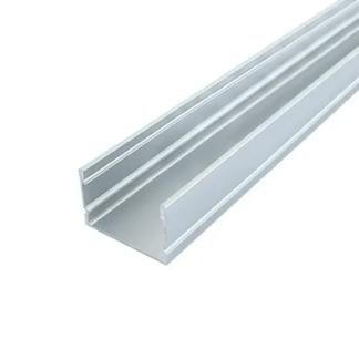 Профиль для LED ленты накладной алюминиевый анодированный ЛП20 20х30 2м