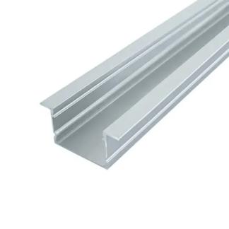 Профиль для LED ленты врезной алюминиевый анодированный ЛПВ20 20х30 2м